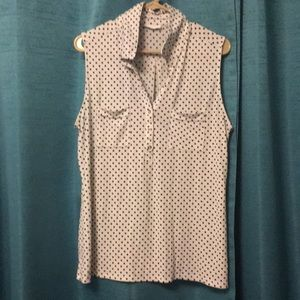 New York & Co. polka dot shirt